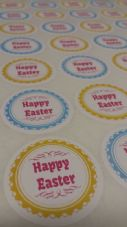 Easter Sticker Pack -  Packaging, Sweet Cones/Bags, Parties And More!
